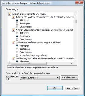 dienst browser nicht vorhanden
